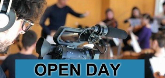 15 giugno OPEN DAY  Unicinema & Scuola di Cinema