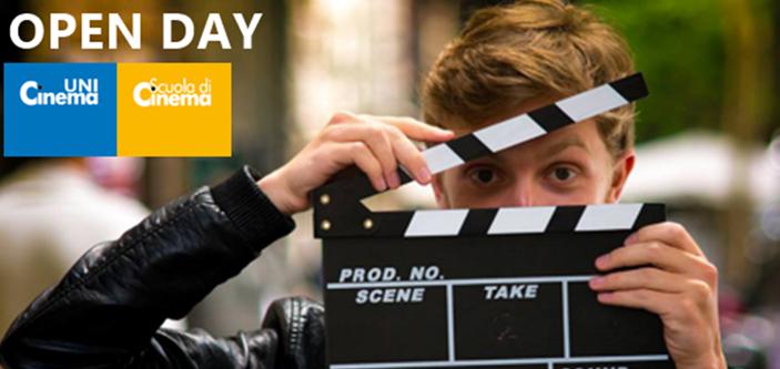 21 LUGLIO 2021- OPEN DAY  Unicinema & Scuola di Cinema